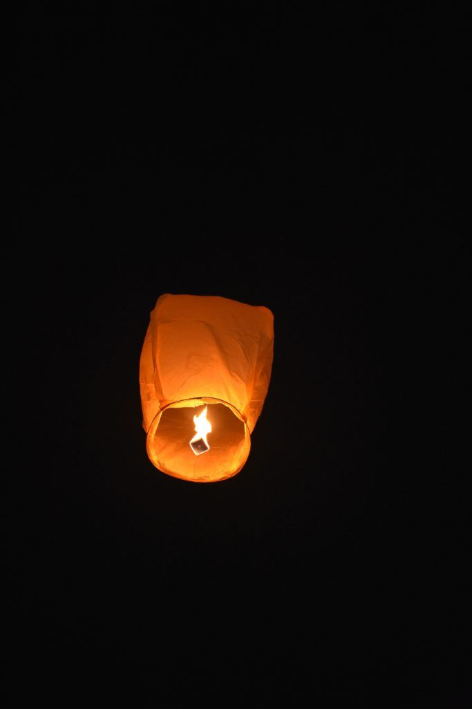 DIY floating lanterns